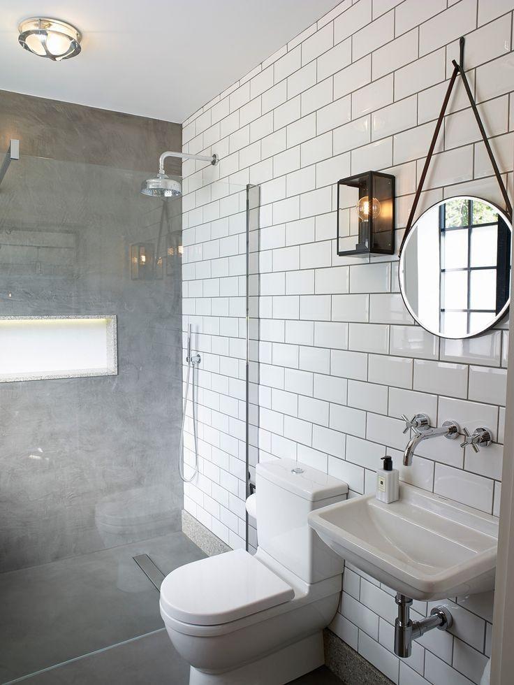 Badezimmer Dekor Fliesen Bathroom Concrete Floor Concrete