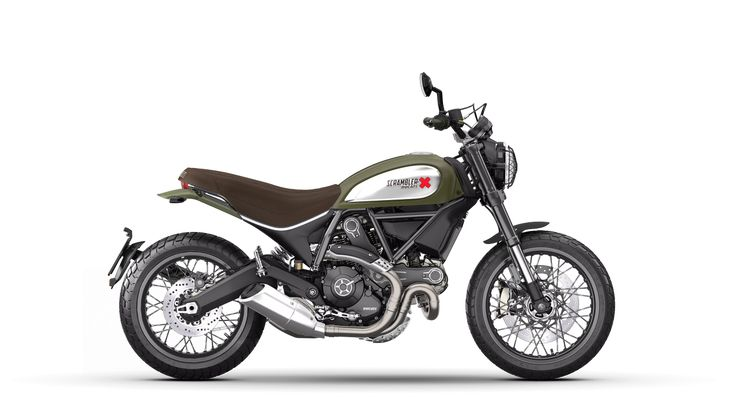 Ducati Scrambler Urban Enduro Customized