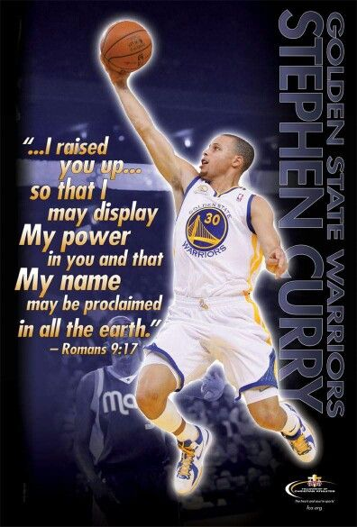 Praise the Lord for Stefan Curry