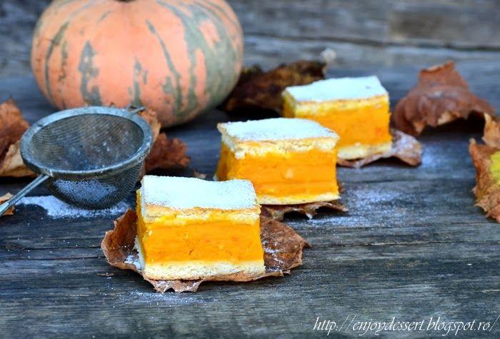 Pumpkin Pie - Prajitura cu dovleac copt