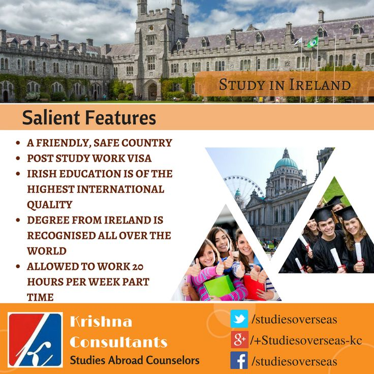Get advice on studying in #Ireland from our experts- http://goo.gl/swWXXa  Contact- info@studies-overseas.com
