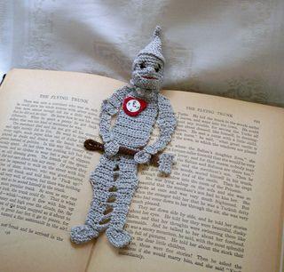 Tin Man bookmark. So cute!