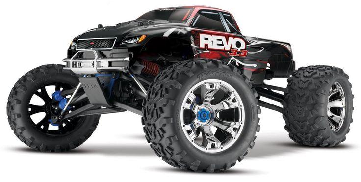 TRAXXAS Revo 3.3 1/10 Scale Ready to Run Nitro 4WD Gas Powered RC Truck [53097-1]