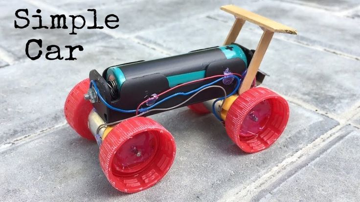 How To Make A Mini Electric Powered Car Very Simple To