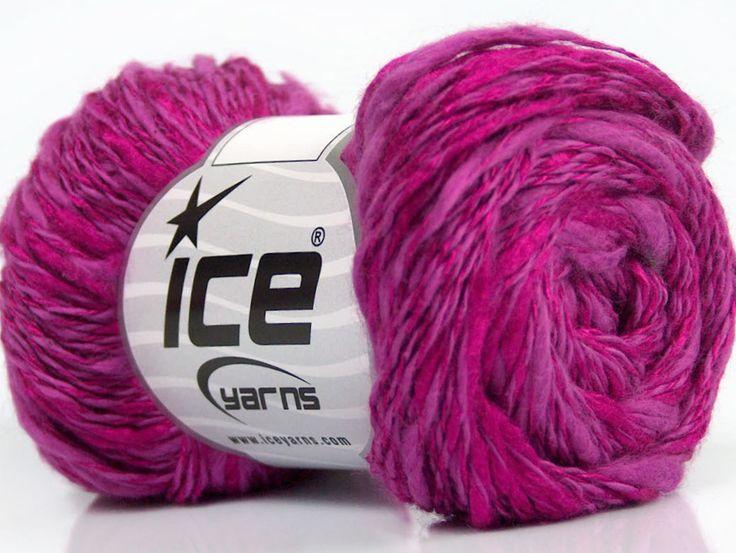Fiber Content 60% Cotton 40% Viscose Orchid Brand ICE Fuchsia fnt2-41430
