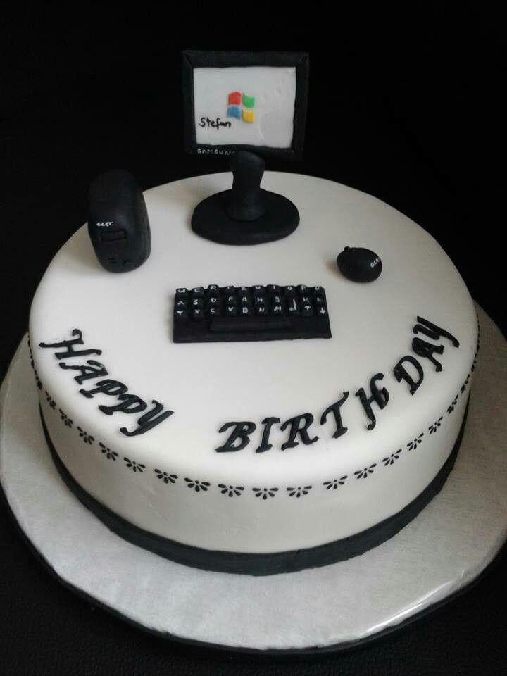 Computer Torte Sarah Pinterest Computer Cake Cake