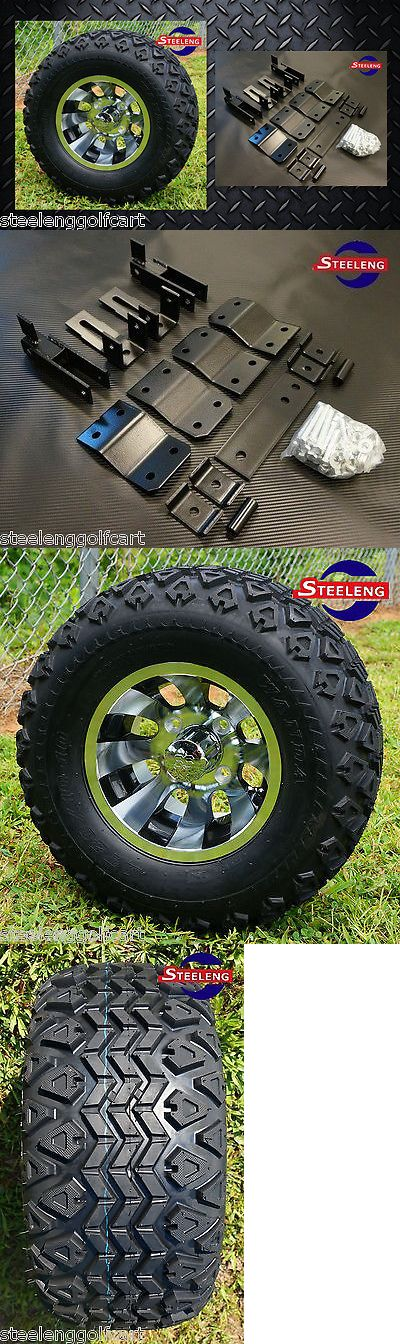 Other Golf Accessories 1514: Yamaha Golf Cart G14 G16 G19 4 Lift Kit + 10 Wheels And 20 All Terrain Tires -> BUY IT NOW ONLY: $497.95 on eBay!