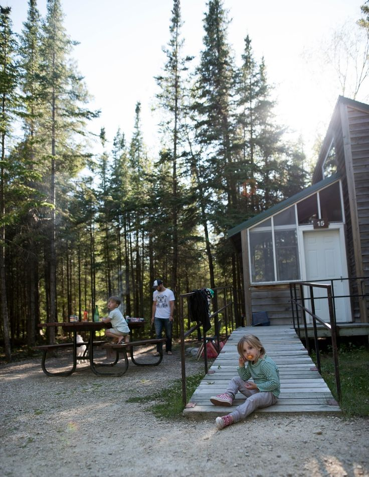 Novice Campers / Hecla Island
