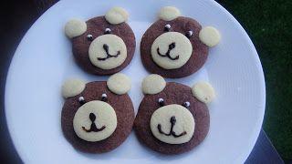 Teddy Bear Biscuits - Mums in the Mix