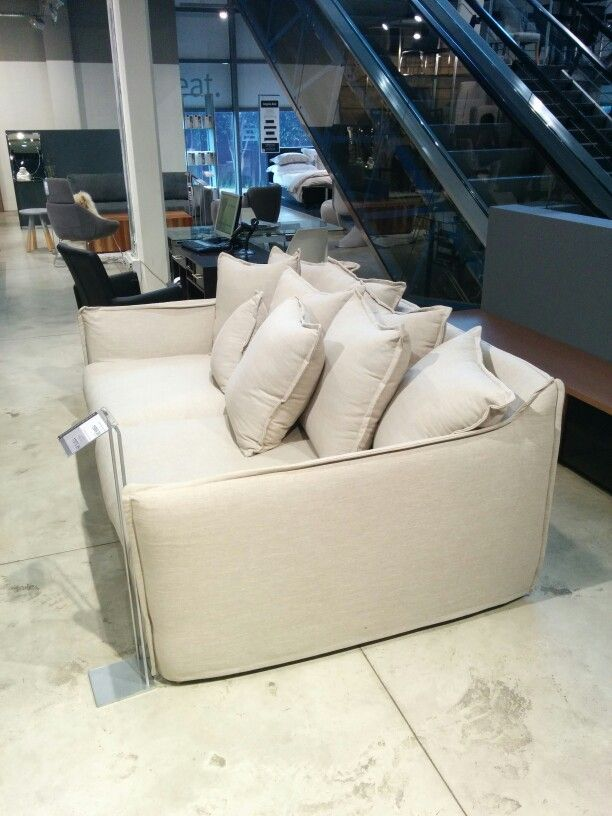 Really Deep Couch At Design Quarter. Would Go With Fat Sack. Deep  CouchLiving RoomDesignSacksSofa