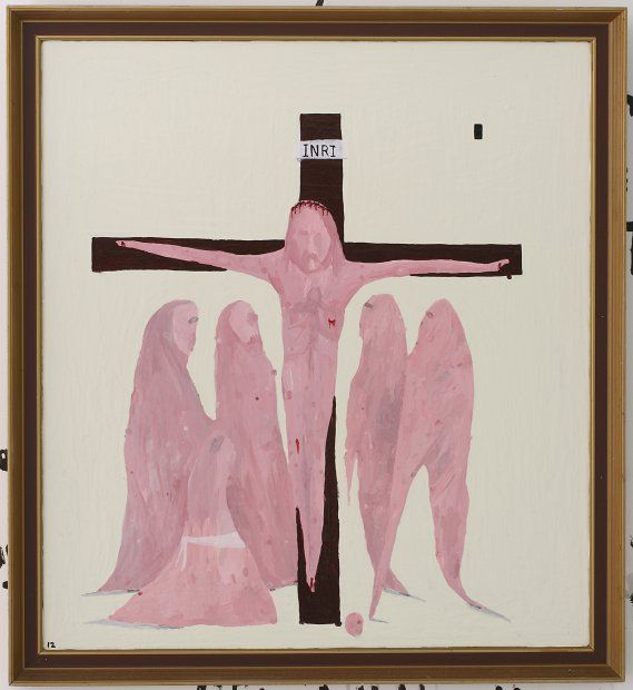 Jesus dies on the cross / Richard Lewer