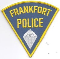 FRANKFORT INDIANA POLICE PATCH