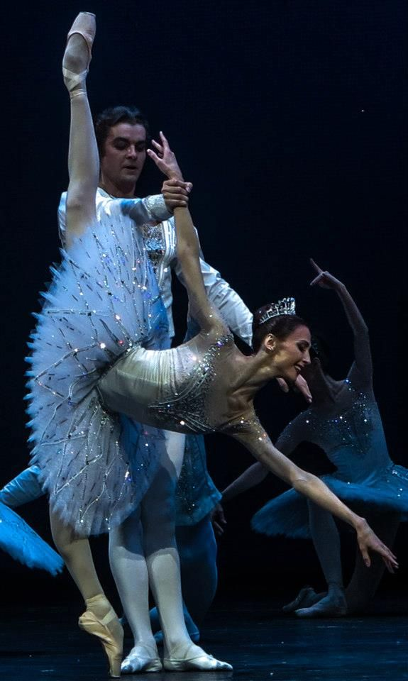 "tutu-fangirl: "" Svetlana Zakharova and Alexander Volchkov, ""Diamonds"", Bolshoi Ballet © Philippe Jordan """