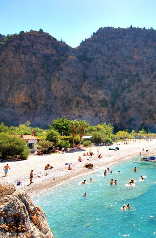 Butterfly Valley in Oludeniz Turkey