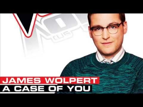 James Wolpert - A Case Of You - Studio Version - The Voice US 2013