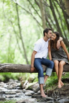 romance amidst nature