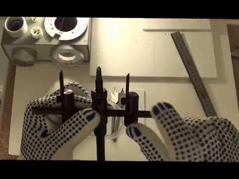 Обвод трубы в натяжном потолке Fran Studio (Фран Студио) - YouTube