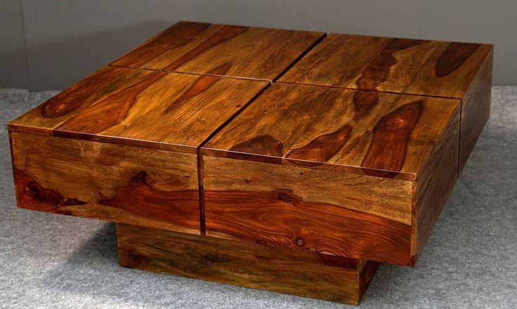 Kwadratowy stolik kawowy - CudneMeble - Stoliki kawowe