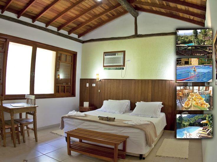Ganhe uma noite no Suíte Perto de Cachoeira em Camburi - Pousadas para Alugar em São Sebastião no Airbnb!