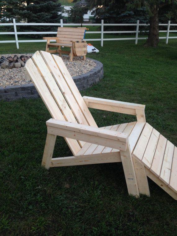 M s de 1000 ideas sobre sillas adirondack en pinterest - Silla adirondack ...