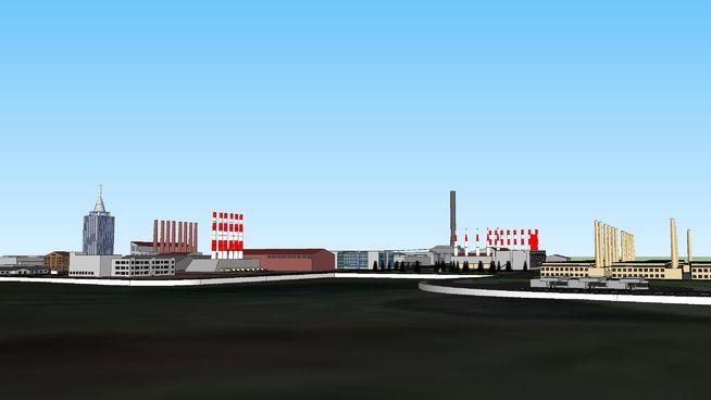 "Industrial City ""Farpoint City"" - 3D Warehouse"