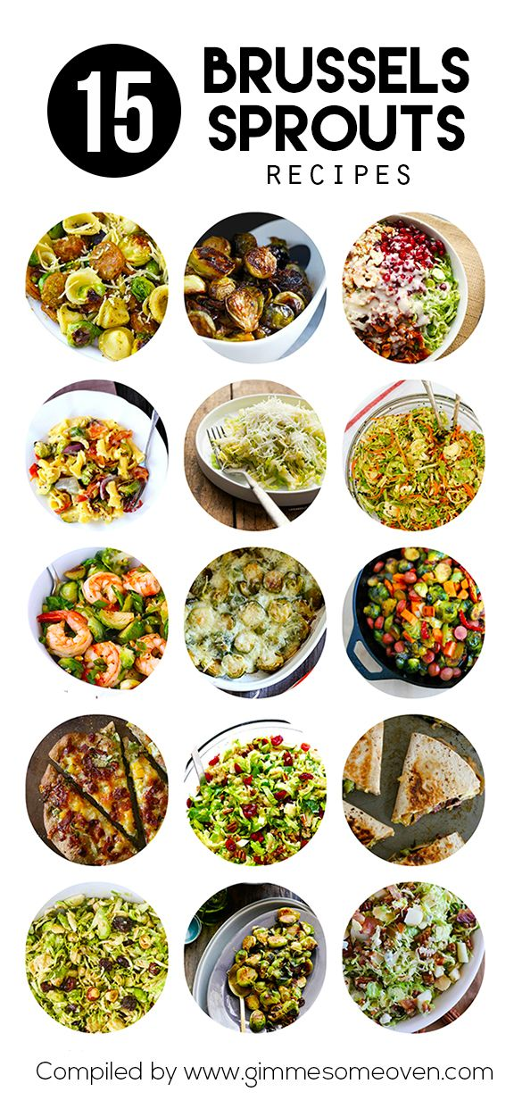 15 Brussels Sprouts Recipes | gimmesomeoven.com