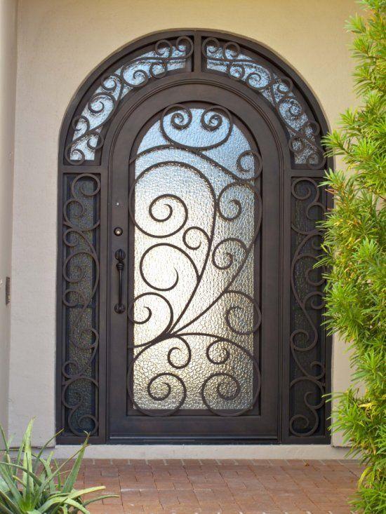 ferforje bina giriş kapıları-7