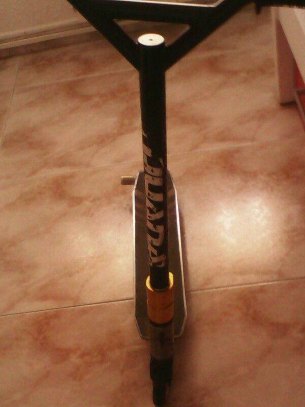 Un frontal de mi scooter