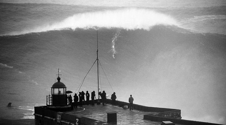 Carlos Burle - Nazare, Portugal by Tomane