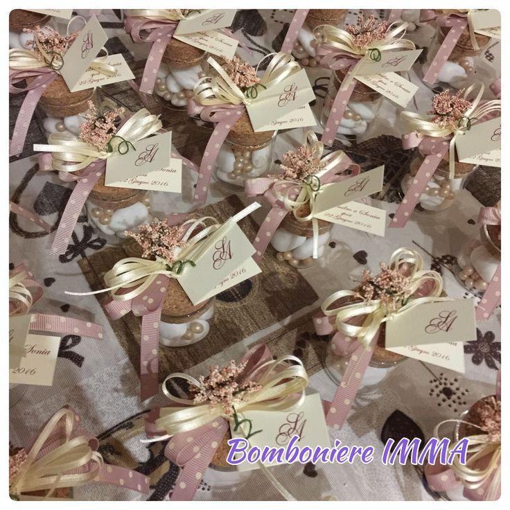Barattolini porta confetti
