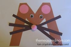 Letter M Craft 1 the measured mom1 Letter M Crafts for Preschoolers