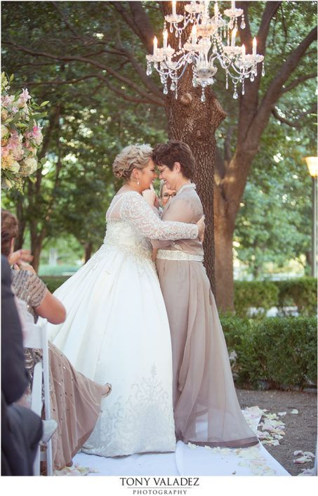 Weddings by StarDust   Dallas Wedding   Same Sex Wedding   Our Door Ceremony   Chandelier   Garden