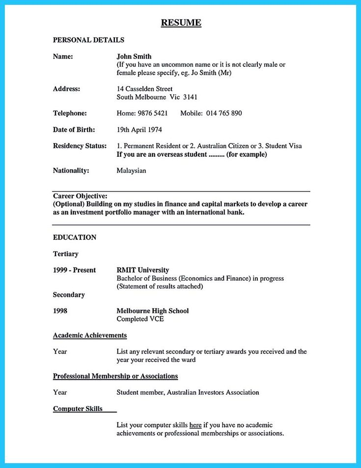 Awesome One Of Recommended Banking Resume Examples To
