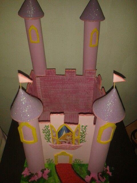 Dulcero del castillo de la Princesa Aurora | Chupeteras y cajas de ...