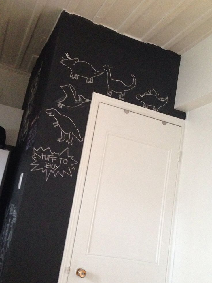 Dino #chalkboard
