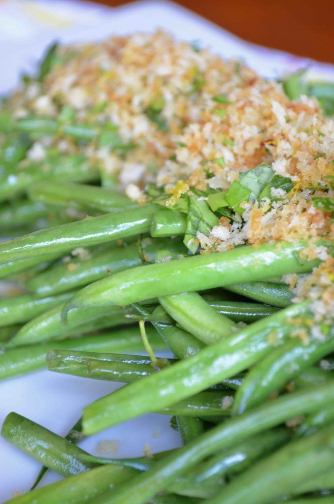 Sautéed Green Beans with Lemony Gremolata - From Scratch With Maria Provenzano