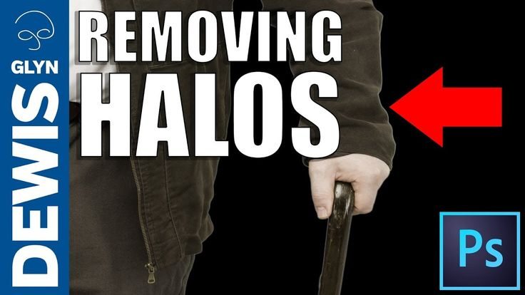 How to Remove Halos from Cut Outs in Photoshop - YouTube