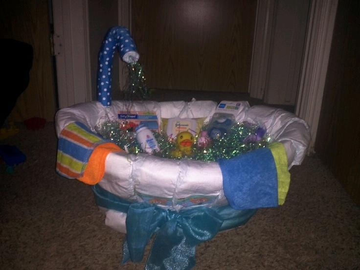 diaper tub shower wedding party ideas pinterest tubs. Black Bedroom Furniture Sets. Home Design Ideas