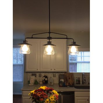 Globe Electric Company Vintage 3 Light Kitchen Island Pendant Reviews