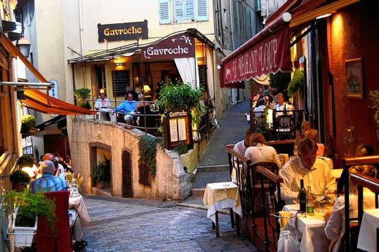 Rue saint antoine restaurants in old cannes been there for Restaurant le jardin cannes menu
