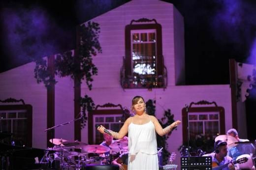 SEZEN AKSU (7 EYLÜL 2013) Sezen Aksu, Harbiye Cemil Topuzlu Açıkhava Sahnesi'nde konser verdi.