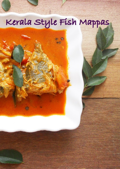 Kerala Style Fish Curry In Coconut Milk
