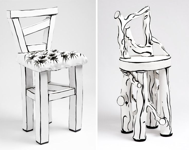 katharine morling's ceramic furniture + objects appear two-dimensional | Nina Azzarello | Designboom