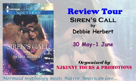 "4* #Review Siren's Call by @DenHerbertWrit + #Giveaway to win all 3 books in the #Bestselling series on Through Raspberry Colored Glasses blog! ""I really enjoyed it..."" http://razzberrycoloredglasses.blogspot.in/2015/06/review-tour-sirens-call-by-debbie.html #ReviewTour #NjkinnyToursPromo #MustRead #Mermaid"