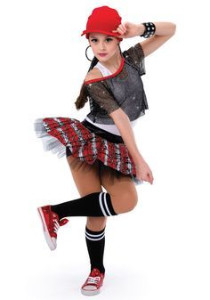 Hip Hop Costumes on Pinterest | Cute Dance Costumes, Jazz Costumes ...