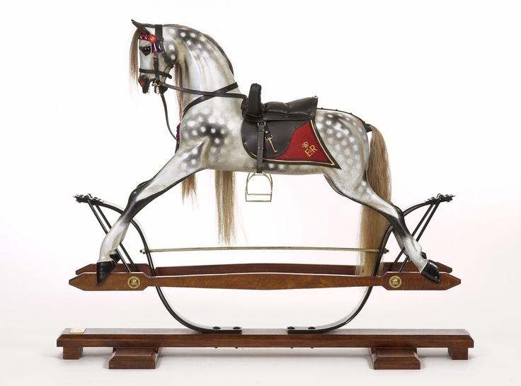 Stevenson Brothers - Golden Jubilee Rocking Horse #Equestrian #Luxury #Homeware