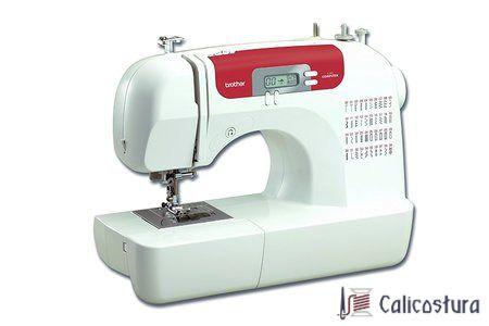 La Brother CS10 es una máquina de coser electrónica muy fácil de usar. Rara vez hemos visto una máquina tan simple con unas características más que completas cuenta con 40 tipos de puntada para que puedas realizar múltiples trabajos de forma muy sencilla.  #maquinas #coser #Brother