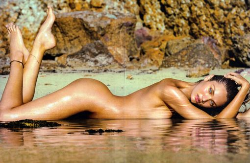 Candice Swanepoel for Maxim 2015 March