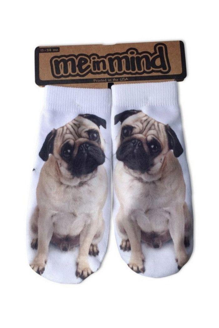 Me in Mind - Pug Socks | - R + D Hipster Emporium - Inspirational Fashion & Boho Chic