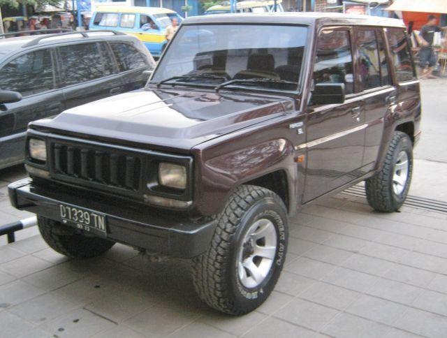 Mobil Bekas 1998 Long Jeep Daihatsu 1 Vehiculos Autos